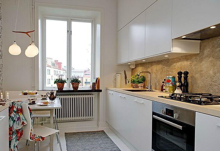 Чистый скандинавский стиль на 61м? квартирного пространства .